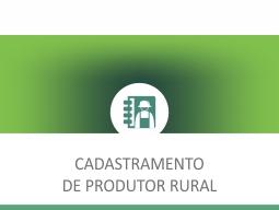 cadastramento de produtor rural